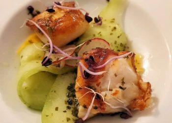 Plat de poisson au restaurant Le Sully à Baugy